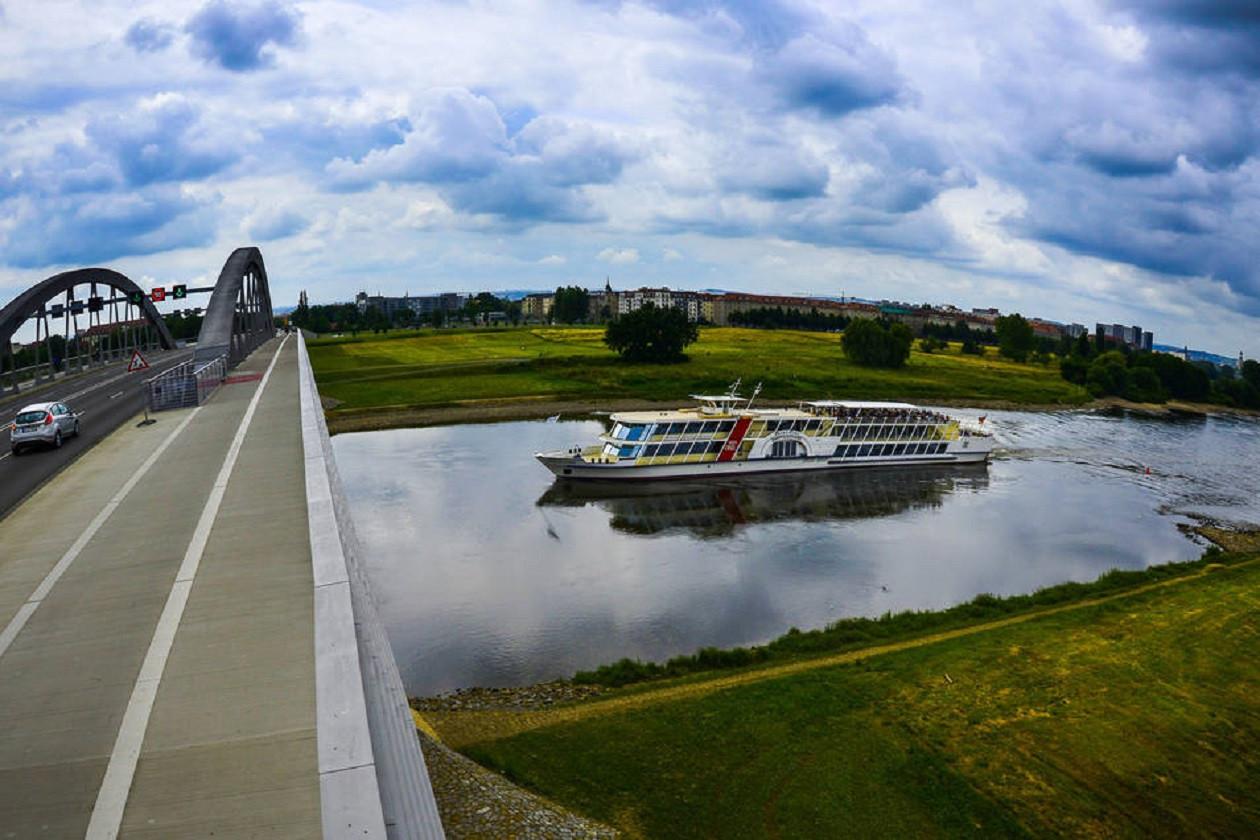 Fährt nach Fahrplan: Dresdner Dampfschifffahrt