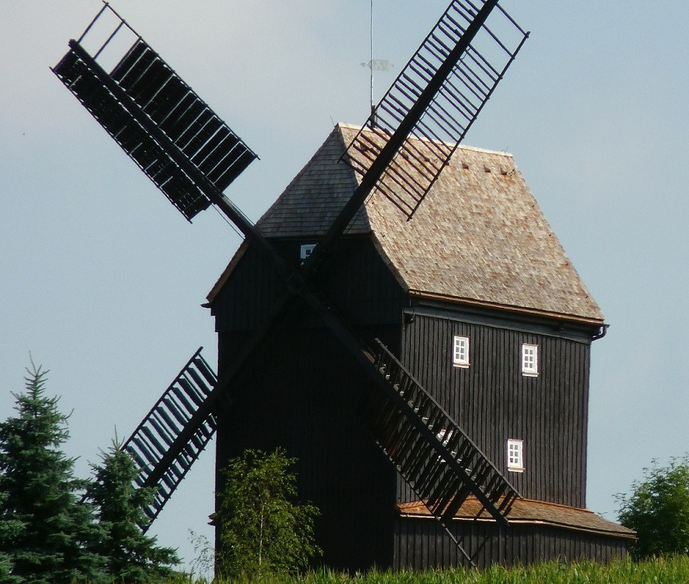 Der Förderkreis Oberoderwitzer Bockwindmühlen e.V. kümmert sich um den Erhalt der Neumannmühle.