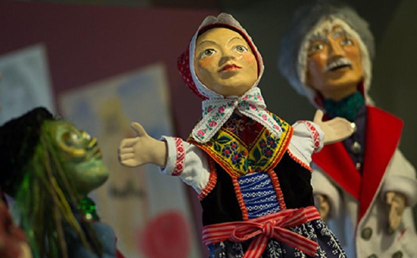 Im Sorbischen Museum Bautzen dürfen die Sagenfiguren nicht fehlen.