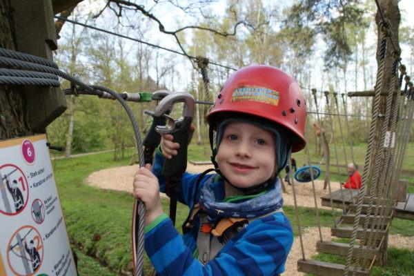 Auch die Kids haben beim Klettern eine Menge Spaß.