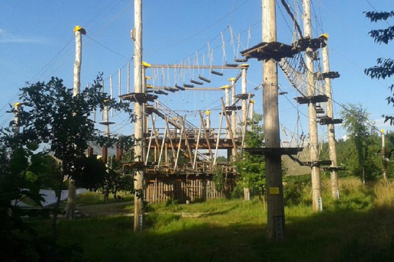 Geöffnet in den sächsischen Sommer-Ferien täglich von 10 bis 20 Uhr: Kletterpark am Stausee Bautzen