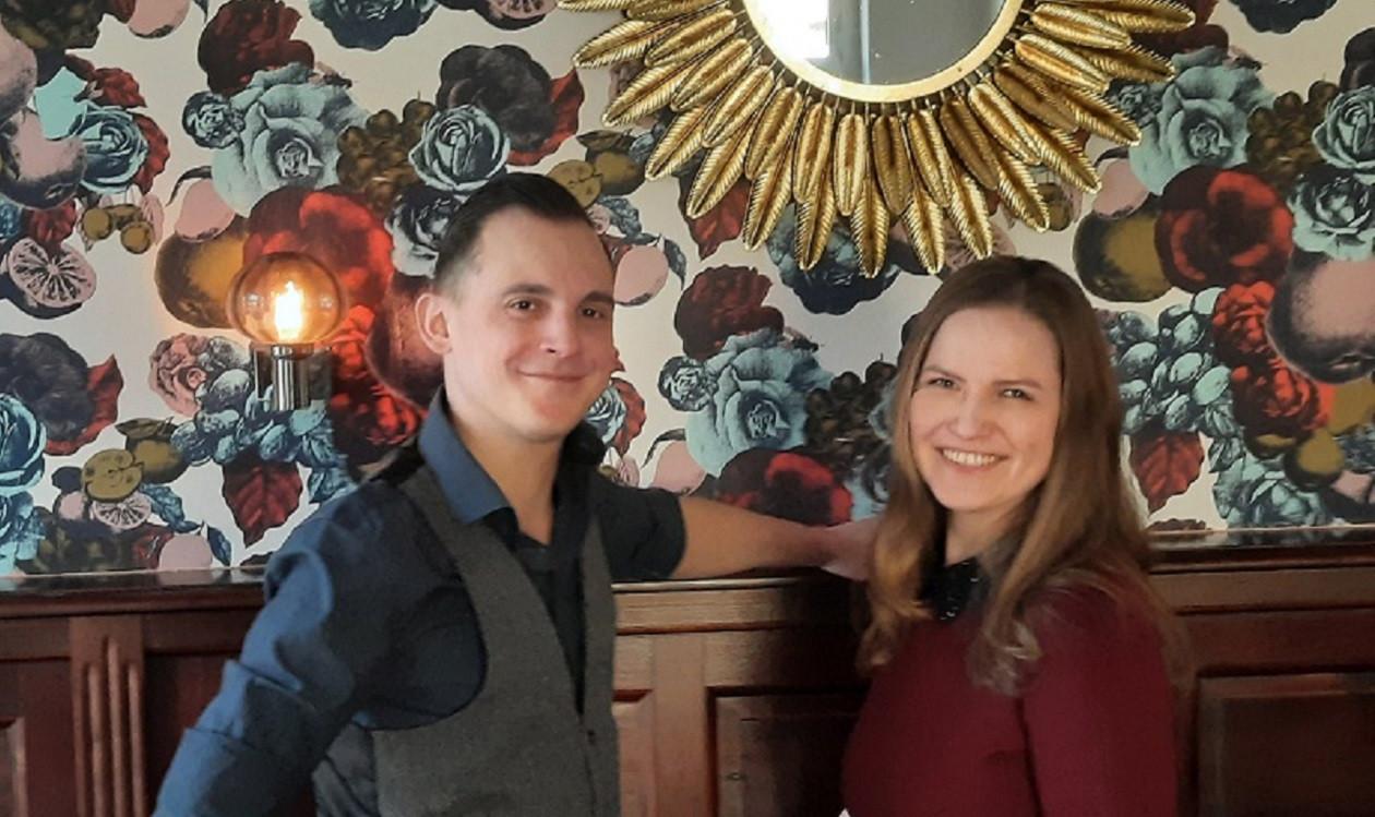 """Zweite Aprilwoche: <a href=""""https://augusto-sachsen.de/articles/gastronomie/augusto-fragt-nach-im-restaurant-kanzlei-174486"""">Michael Pofandt und Tatjana Nikulin vom Restaurant Kanzlei</a>"""