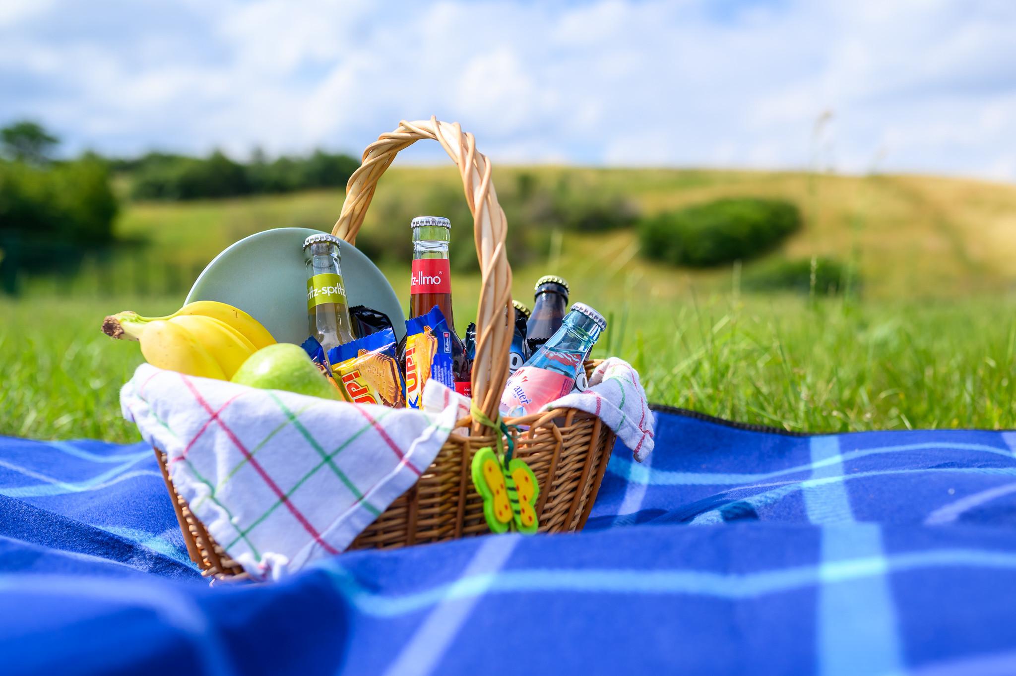 Die Lieblings-Speisen und Getränke darf man sich ausnahmsweise selbst mitbringen.