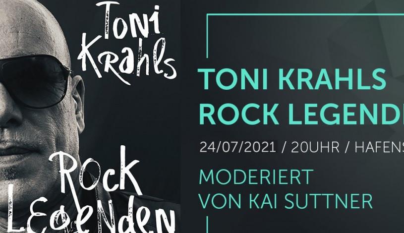Toni Krahl ist wahrlich eine Rocklegende.