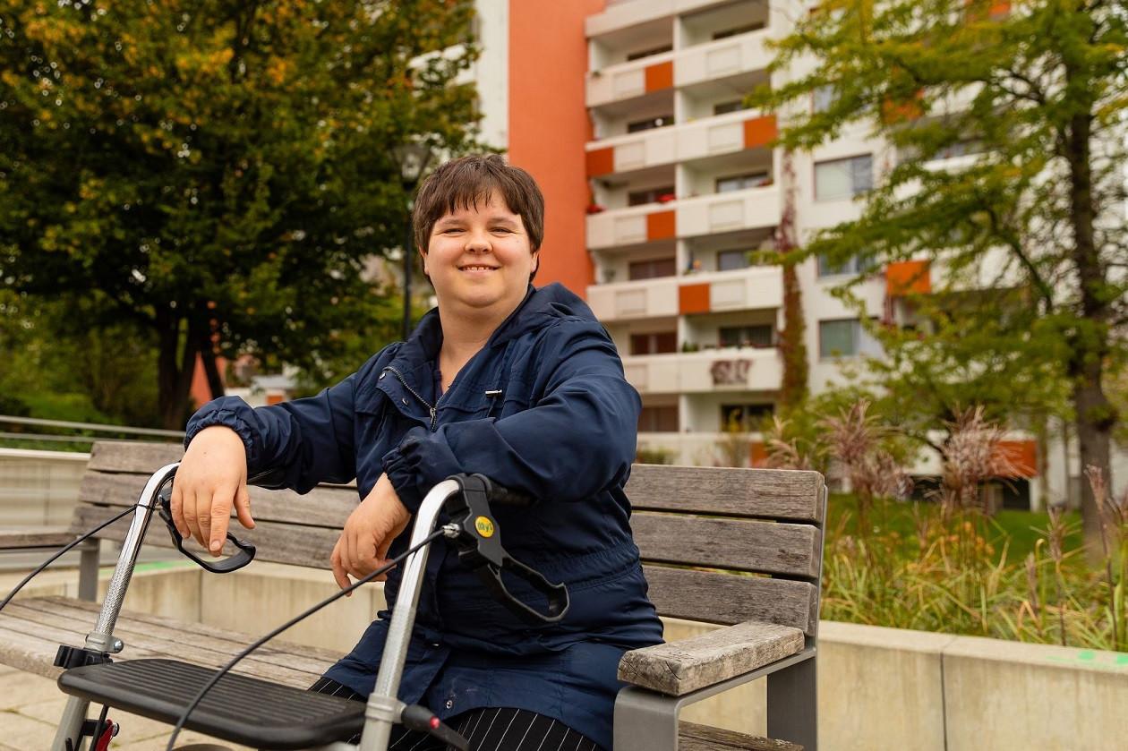 Kathrin Möhler - ihr konnte Lichtblick helfen.