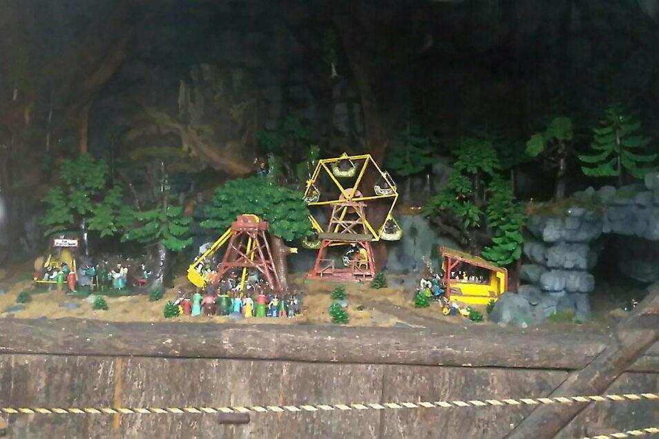"""""""Waldfest der Tiere"""" heißt diese wunderschöne Szene, die bald wieder in Oybin zu sehen sein soll."""