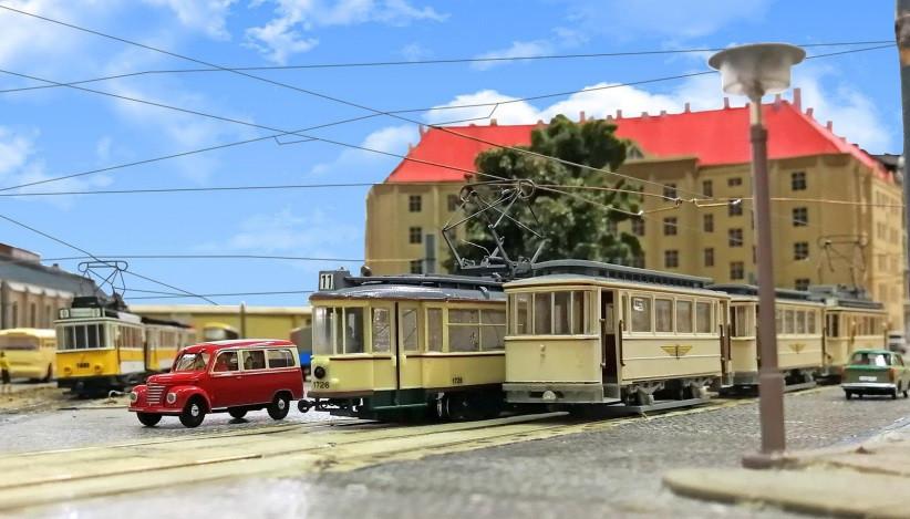 Schau am Wochenende: Geschichte und Gegenwart der Dresdner Straßenbahn im Modell.