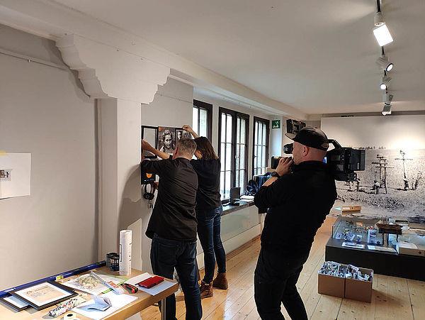 Die Stadt Pirna hat in ihren Museen Videos produzieren lassen.
