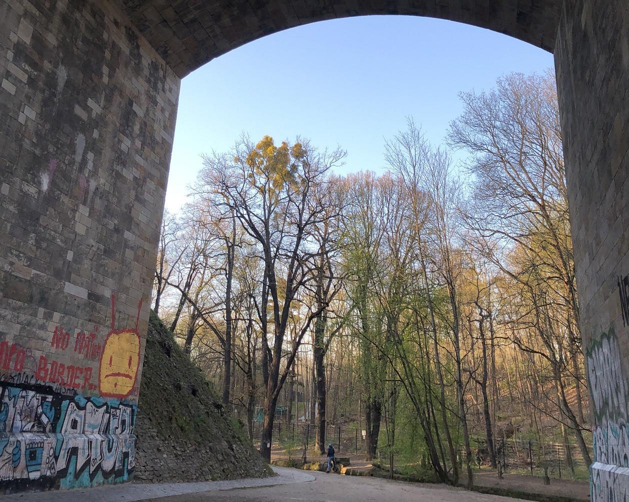 Das Tor zur Heide - die Prießnitztalbrücke.