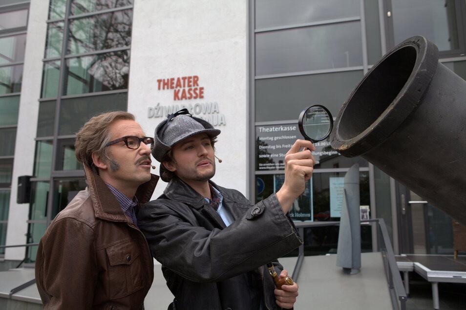 Holmes und Watson ermitteln im Sommer auf der Bautzener Ortenburg.