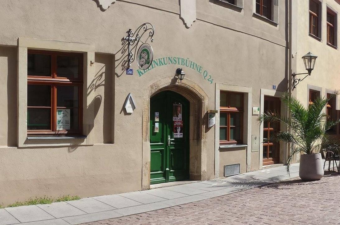 Die Kleinkunstbühne in Pirna.
