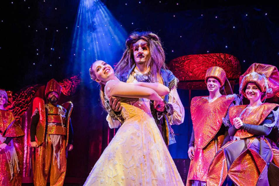 """Das Musical """"Die Schöne und das Biest"""" wird am Wochenende gleich dreimal in Dresden aufgeführt."""