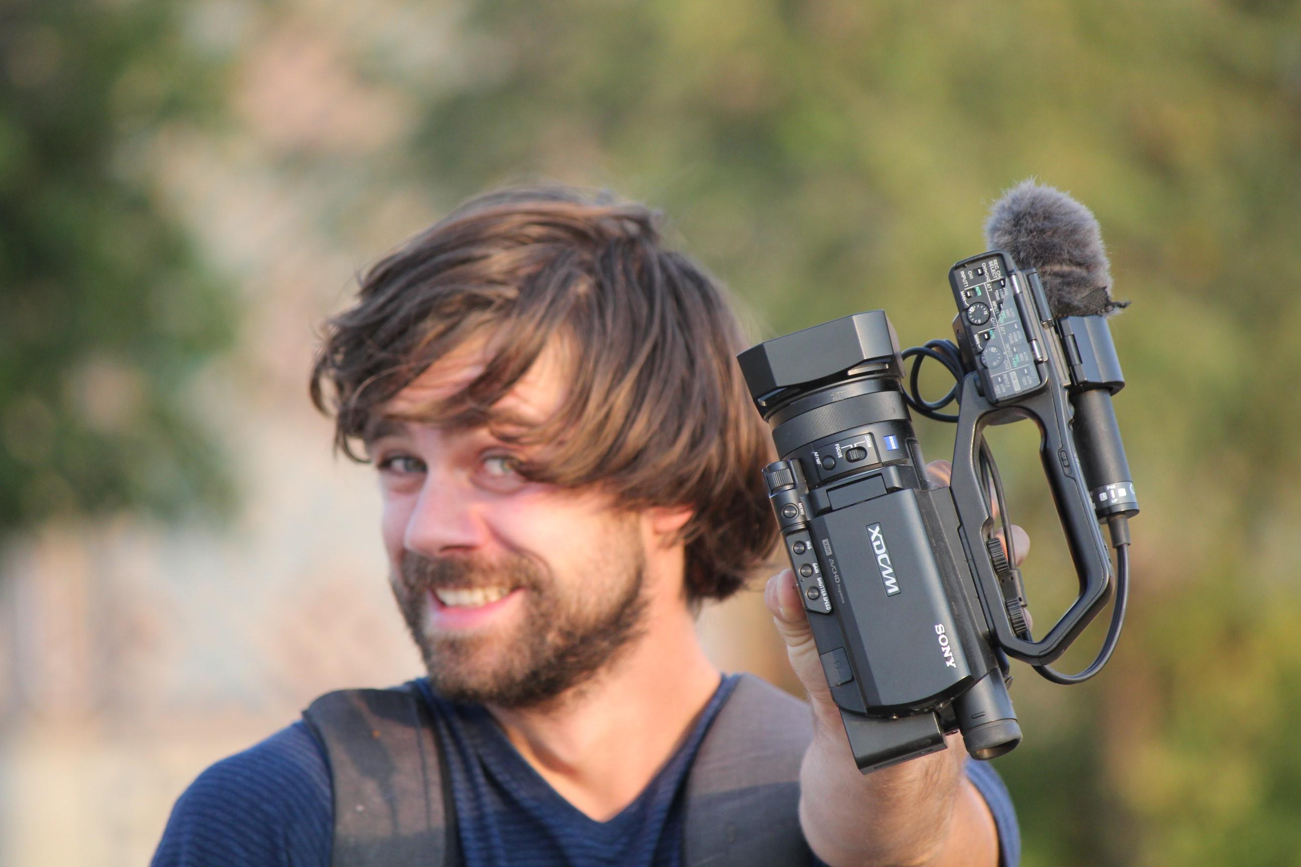 Martin Zech filmt nicht nur Reisen, sondern auch Dinge aus seinem Alltag.