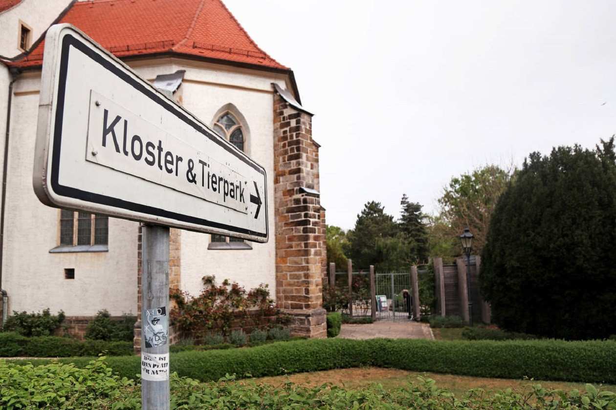 Interessante Kombination in Riesa - Kloster und Tierpark.