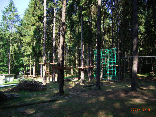 Freizeiterlebnis Kletterwald Dresdner Heide