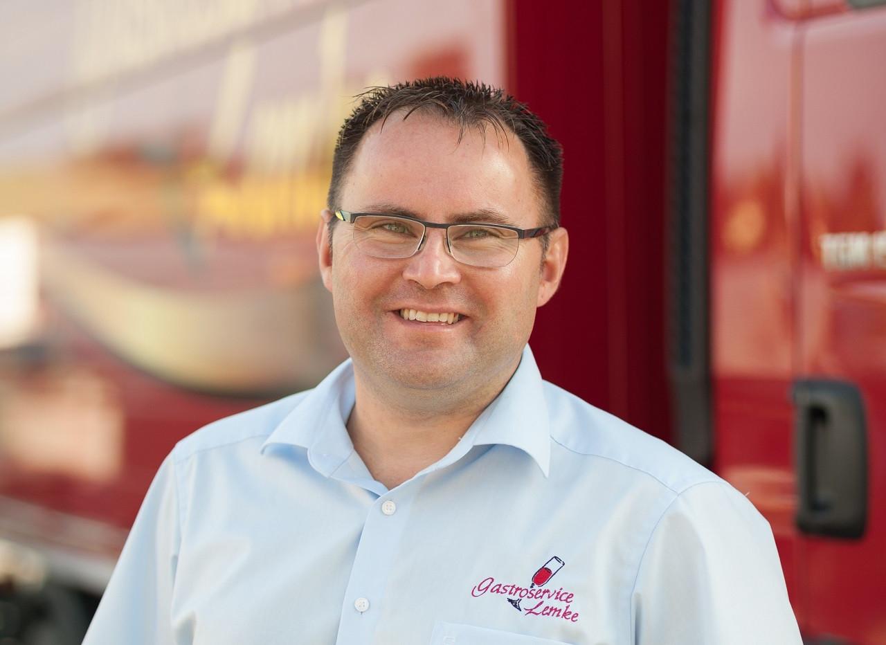 Geschäftsführer Lars Lemke vom Bürgergarten Döbeln.
