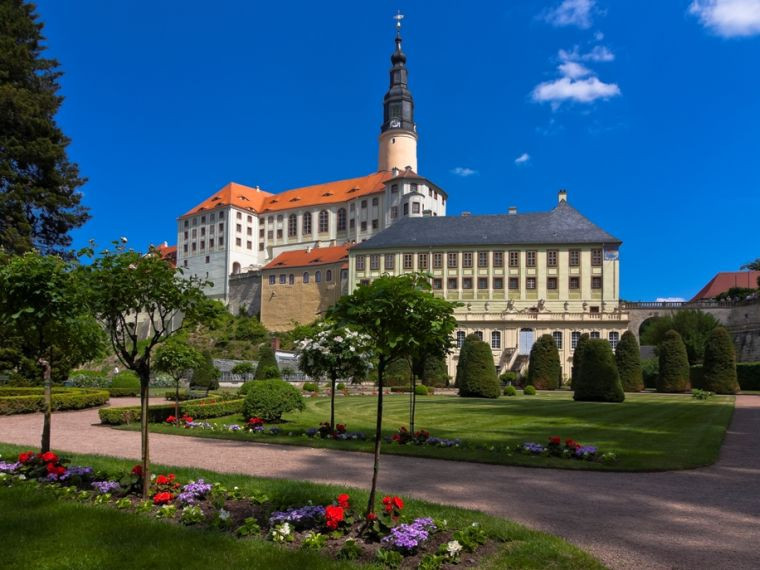 Park auf, Schloss zu - das gilt auch für Weesenstein.