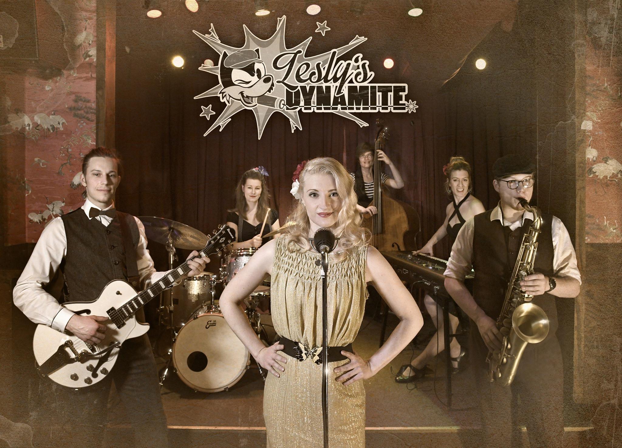 Die neue Band Lesly's Dynamite wollte gerade durchstarten, als das Corona-Virus Mitte März jegliche Pläne durchkreuzte.