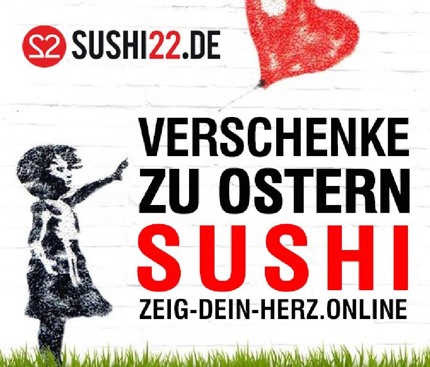 Gewinnen Sie eine exklusive Sushi-Box in Herzform.