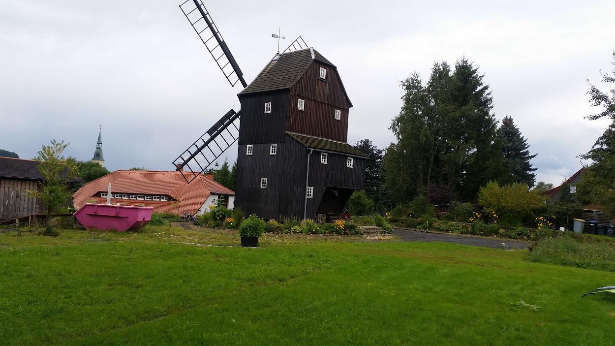 Die Berndtmühle steht bereits seit 1787 an ihrem Platz in Oberoderwitz.