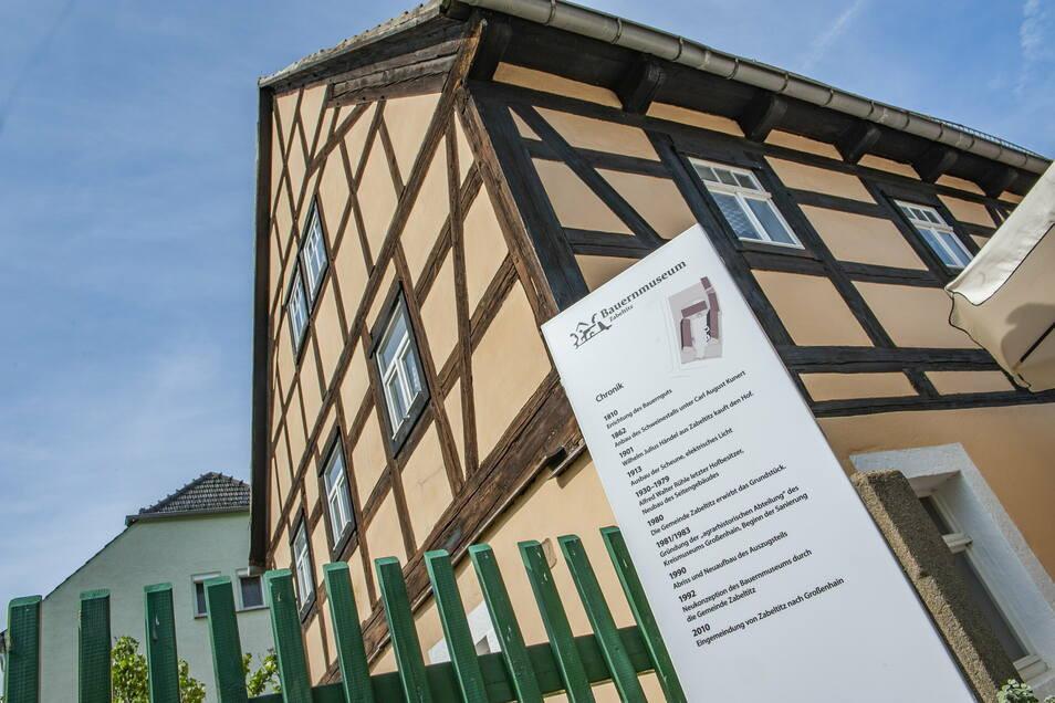Erreichbar im Lockdown - das Bauernmuseum Zabeltitz.