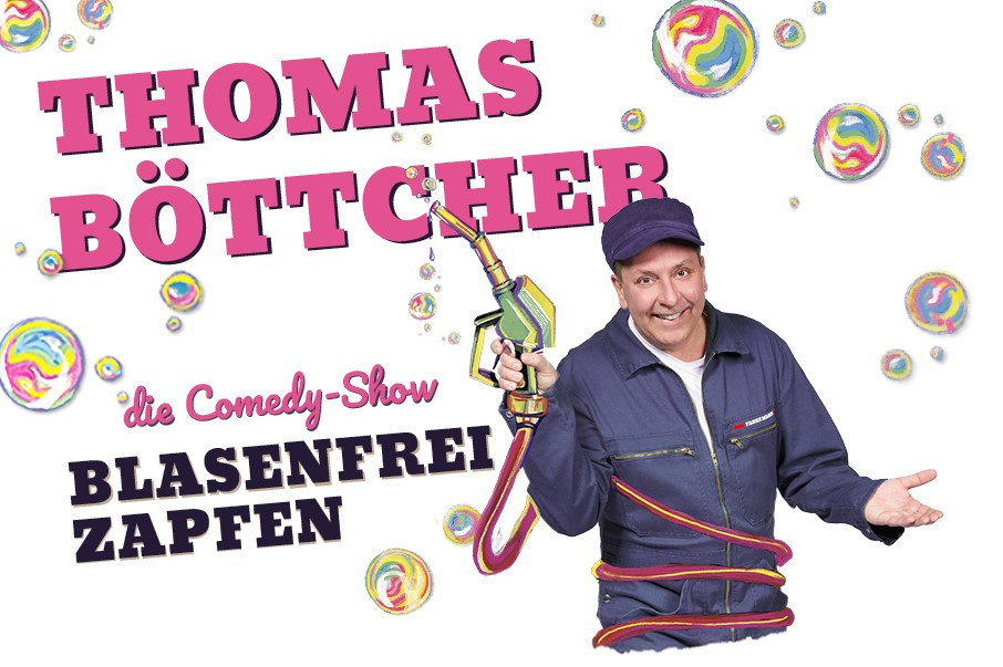 Thomas Böttcher als Tankwart.