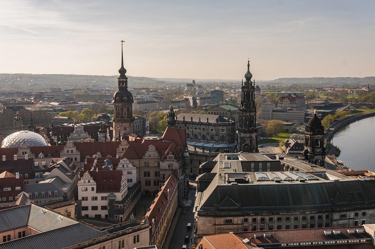 Dresdens Zentrum ist ein Zentrum der Kultur - normalerweise.