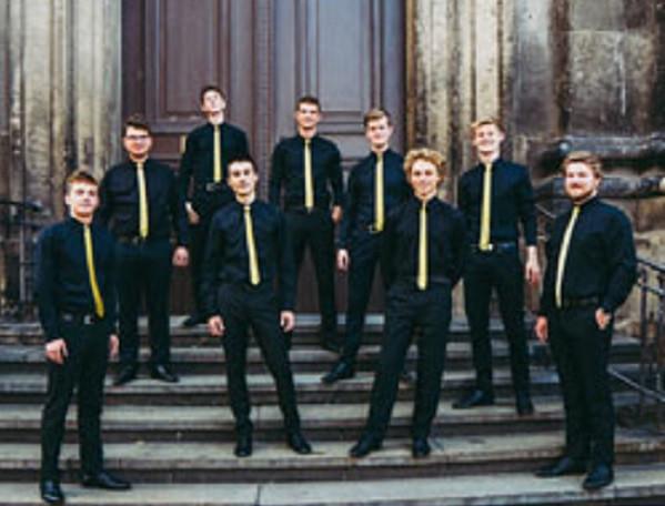 Millenium tritt in der Dresdner Versöhnungskirche auf.