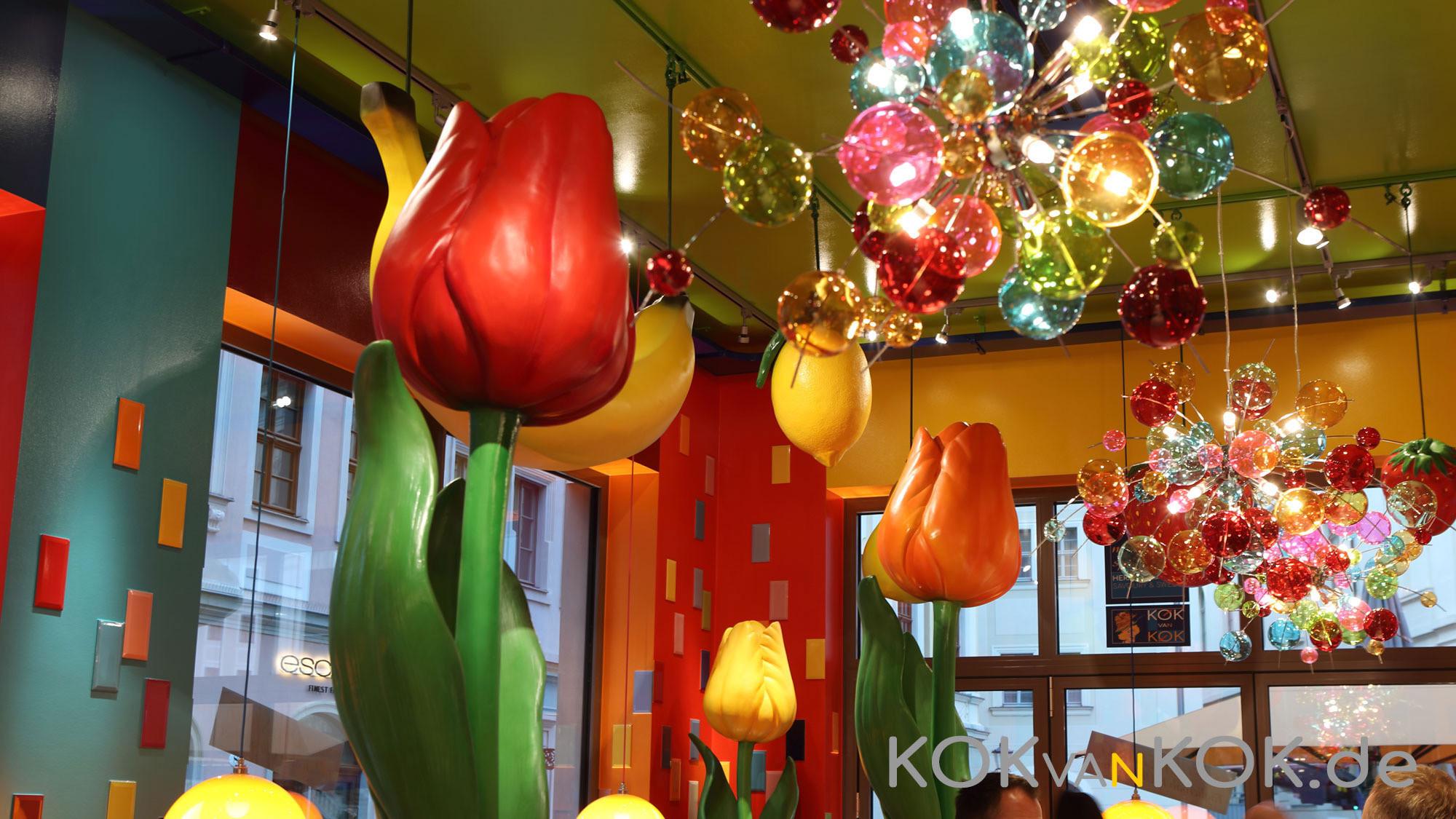 Gemeinsam mit Wunderräume hat Johannes Haenchen das Kok van Kok gestaltet - voller niederländischer Lebensfreude.
