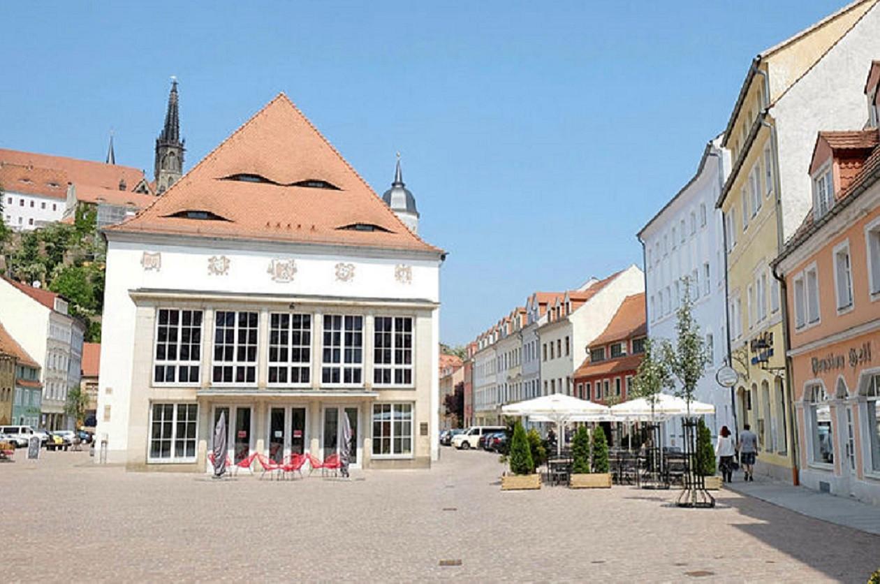 Das Theater Meißen bietet knapp 500 Zuschauern Platz.