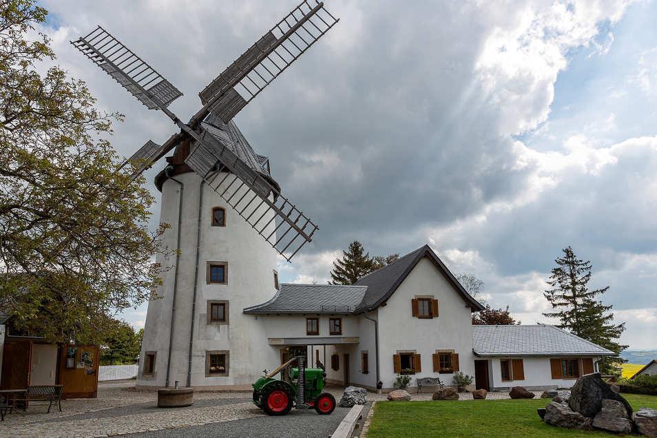 Die Mühle in Possendorf.